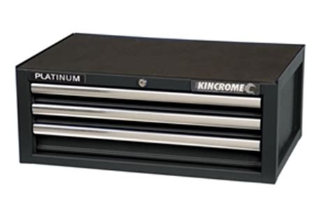 kincrome 3 drawer tool chest kincrome platinum add on tool chest 3 drawer k7503 auction