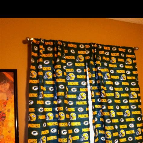 packers curtains pin by denise longo on go packers pinterest