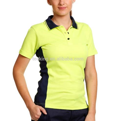 Buys Safer Shirt by Custom Cheap Polyester Hi Vis Safety Polo Shirt