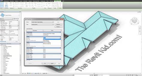 tutorial revit indonesia revit tutorial 3d standing seam metal roof in 6 minutes