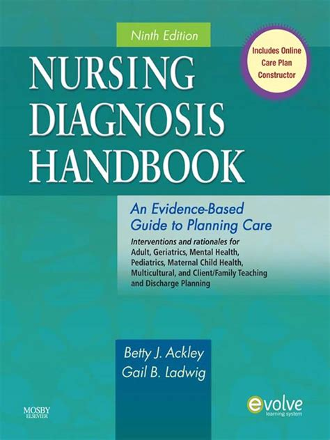 nursing for wellness in adults edition books ackley nursing diagnosis handbook 9th edition