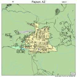 payson arizona map payson arizona map 0453700