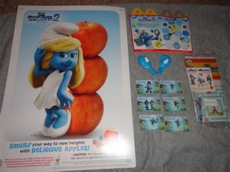Ready Mcd Gift Card Limited Edition Mcdonald Gift Card Voucher 200k for sale mcdonalds smurfs promotional items from