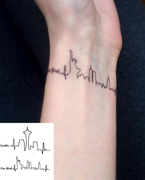 waterproof temporary tattoo sticker seattle and new york