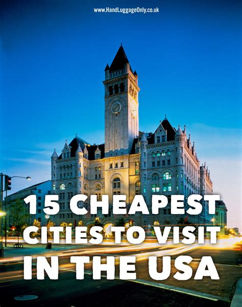 cheapest cities in usa 15 of the cheapest cities in the usa that you need to