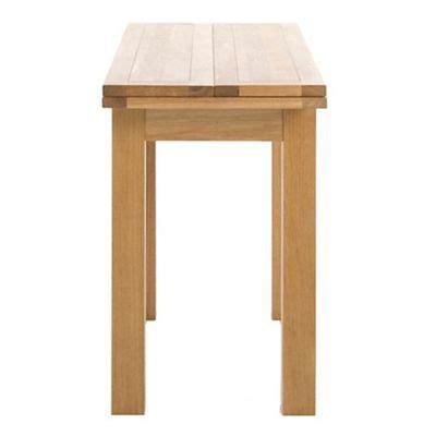 extending console table debenhams oak finished jackson extending console table