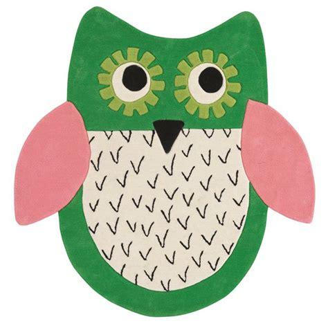 childrens owl rug owl emerald rug designers guild