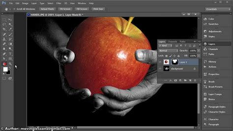 beginner vector tutorial photoshop photoshop cs6 exle vector selection and layer mask 2