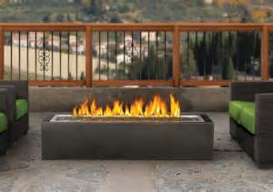 Outdoor Fireplaces And Firepits - patioflame linear fire pit gas outdoor fire pit fine s gas