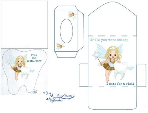 printable fairy envelope free printable tooth fairy card kit another version