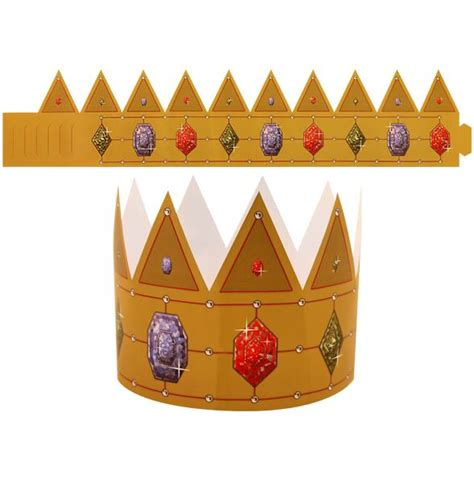 king paper crown hat fancy dress bags