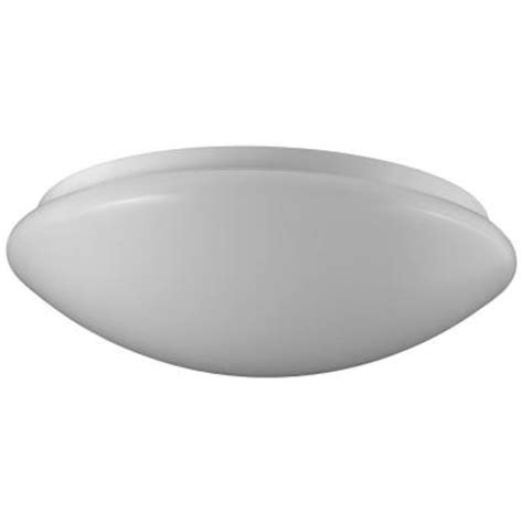 home depot led light fixtures sylvania 1 light flush mount ceiling or wall white led