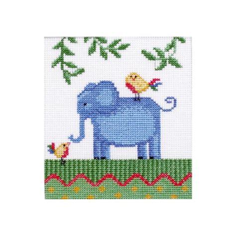 "Cross stitch kit ""Africa. Elephant"""