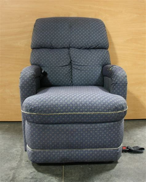 used recliner for sale rv furniture used motorhome blue cloth recliner for sale