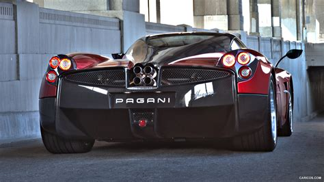 pagani back pagani huayra picture 114450 pagani photo gallery