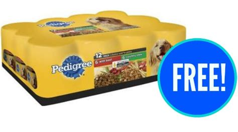 pedigree food walmart walmart deal free pedigree food after topcashback southern savers