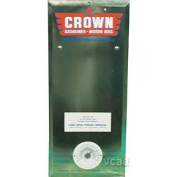 Termometer Crown crown gasoline tin thermometer 9 quot x 20 quot