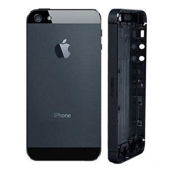 Casing Leather Back Cover Iphone 5 5s D genuine iphone 5 rear housing black back cover