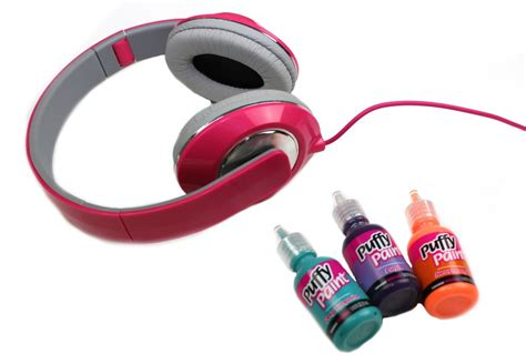 Decorated Earbuds by Decorate Your Headphones A Craft In Your Daya Craft In Your Day