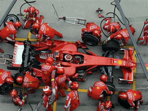 Pit Stop by This Fascinating Compares Pit Stops From Formula 1