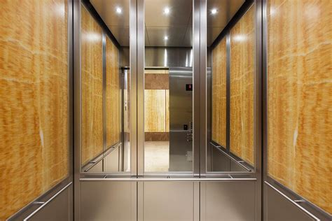 Wall Interior cabforms series 2000 n elevator interior with rear wall