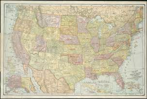 travel map united states travel map of united states