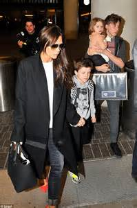 Friday Night Dinner Ideas For Family Victoria Beckham Treats Kids To Sushi As David Flies In With Romeo Daily Mail Online