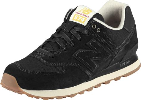 new balance ml574 shoes black