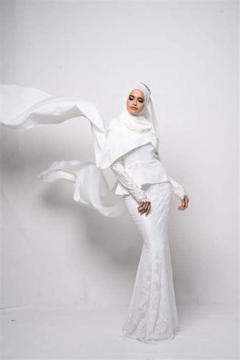 design gaun kahwin 9 idea baju kahwin untuk pengantin berhijab wajib tengok