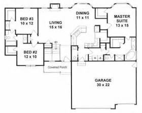 Home Plans With Mudroom House Plan 62627 At Familyhomeplans Com