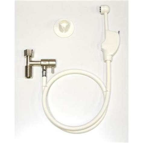home depot spray paint attachment mrs bidet spray attachment for toilet in white 1301 the