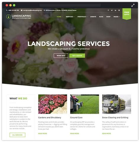 themes wordpress garden 11 best landscaping and gardening wordpress themes