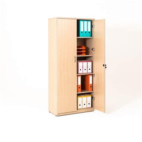 armoire bureau but armoire de bureau portes battantes en bois 4 coloris bd