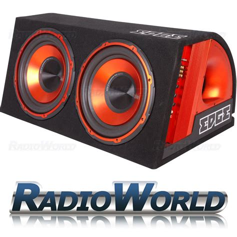 sub wiring kit 1800w edge 12 quot active sub subwoofer boom box