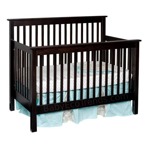 Amish Baby Cribs by Quincy 4 In 1 Convertible Baby Crib Made In Usa Baby Eco