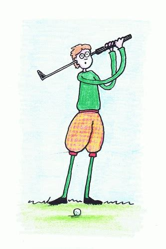 cartoon golf swing golf problem by kerina strevens sports cartoon toonpool