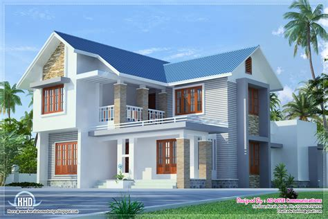 Home Design Exterior Three Fantastic House Exterior Designs Kerala Home
