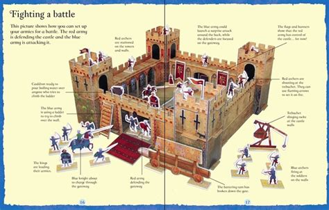 Usborne Slot Together Castle knights and castles at usborne children s books book covers