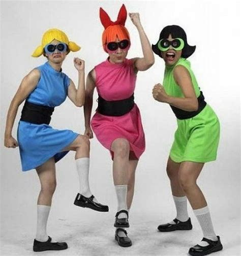 Homemade Christmas Party Decorations - 10 power puff girls group costume ideas hative