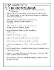 Essay Writing Topics For Grade 2 i would use these writing prompts to students practice expository writing i would write at