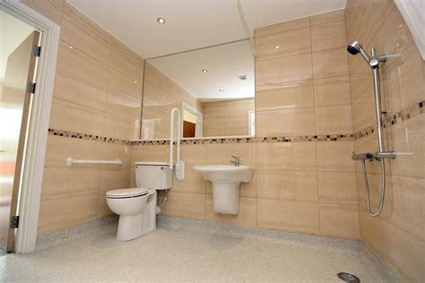 disabled shower room room for a disabled boy allowing room and creating an easy bathing solution for the