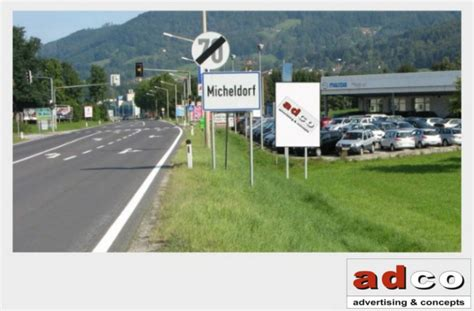 Auto Als Werbefl Che Vermieten by Werbefl 228 Che In Micheldorf B138 Adco Advertising Concepts