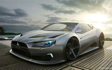 mitsubishi concept mitsubishi concept wallpaper hd car wallpapers id 2090