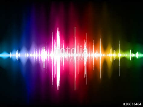 color and sound quot color sound wave quot stock image and royalty free vector