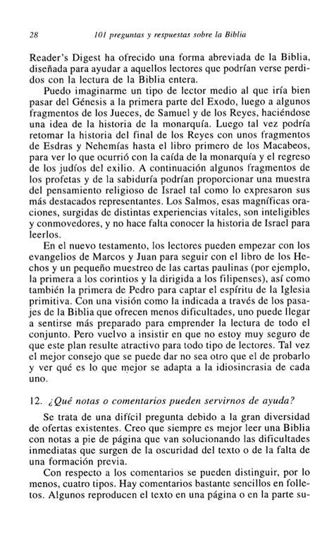preguntas de la biblia catolica 101 preguntas y respuestas sobre la biblia raymond e brown