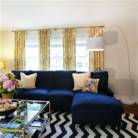 navy couch living room modern navy blue sectional sofa design ideas pictures