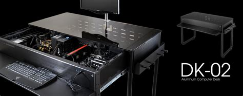 Computer Desk Chassis Lian Li Dk 01x And Dk 02x Desk Chassis