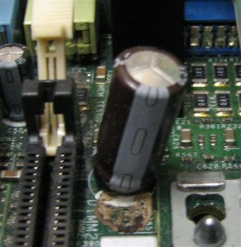 symptoms of a bad capacitor on a motherboard symptoms of bad capacitor on motherboard 28 images why does motherboards stop working