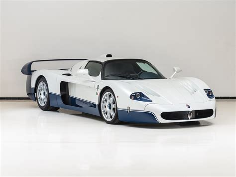 maserati mc12 2005 maserati mc12 up for auction in supercar report
