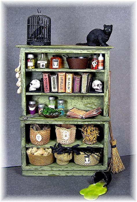 dyi dollhouse miniatures  witchs kitchen